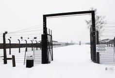 Accampamento di Auschwitz, Polonia Fotografia Stock