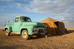 accampamento Siria nomade Fotografia Stock Libera da Diritti