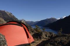 Accampandosi nella Patagonia II immagine stock libera da diritti