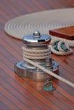 Accastillage de Bateau; Oberwerk des Bootes Stockfoto