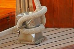 Accastillage de bateau ; Upperworks de bateau Photographie stock