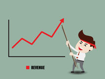 Accelerate business growth Stock Images
