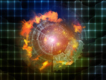 Acceleration of Abstract Visualization Stock Photos