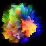 Acceleration of Colorful Paint Splash Explosion vector illustration