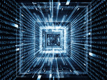 Acceleration of Computer Royalty Free Stock Photo
