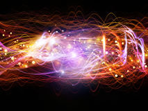 Acceleration of Dynamic Waves Stock Photography