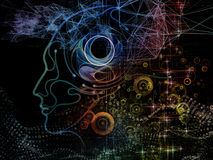 Acceleration of Machine Consciousness Royalty Free Stock Images
