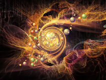 Acceleration of Particles Stock Photography
