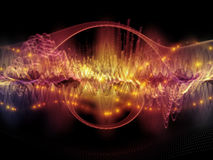 Acceleration of Sound Wave Royalty Free Stock Photo