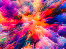 Acceleration of Surreal Paint Royalty Free Stock Photos