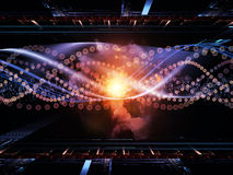 Acceleration of Technology Royalty Free Stock Photo