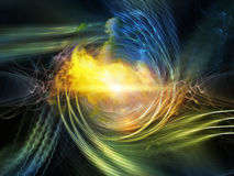 Acceleration of Vortex Royalty Free Stock Image