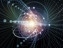Acceleration of Wave Particle Stock Images