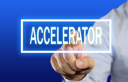 Accelerator Concept Stock Image