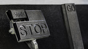 Accelerator pedal Stock Images