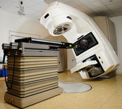 Acceleratore lineare all'ospedale Fotografia Stock Libera da Diritti