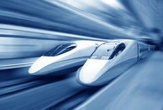 Accelerazione del treno Immagine Stock Libera da Diritti