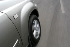 Accelerazione di SUV Immagine Stock Libera da Diritti