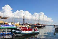 Acceleri la barca Immagine Stock Libera da Diritti