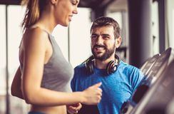 Accenda, richieda tempo per gli esercizi immagine stock