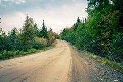 Accenda una strada rurale fotografia stock libera da diritti