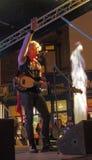 Accendere di luci di Natale di Chorley Immagine Stock Libera da Diritti
