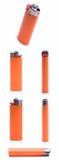 Accenditore arancione Immagini Stock Libere da Diritti