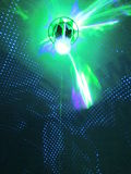 Accensione del fondo astratto per lo spettacolo di luci fotografie stock