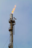 Accensione di gas Fotografie Stock Libere da Diritti
