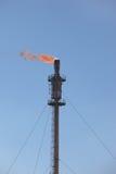 Accensione di gas Fotografia Stock