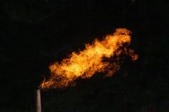 Accensione di gas Immagini Stock