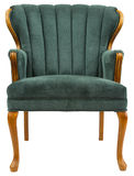 Accent Chair. Traditional Style Accent Chair with Oak Trim Royalty Free Stock Photography