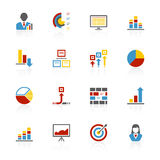 Accent Series Infographics Royalty Free Stock Photo