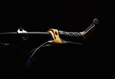 Accentuated Shapes of a Bicycle Stock Images