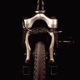 Accentuated Shapes of a Bicycle Royalty Free Stock Image