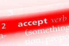 accept Lizenzfreies Stockbild