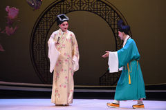 """Accept the invitation of monks -Kunqu Opera """"the West Chamber"""" Royalty Free Stock Photo"""