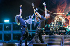 Accept at Metalfest 2015 Royalty Free Stock Photos