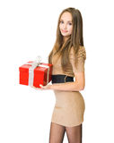 Accept my gift to you. Stock Images