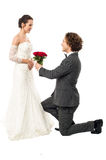 Accept my token of love Royalty Free Stock Photo