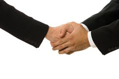 Acceptance. Business transactions royalty free stock photo