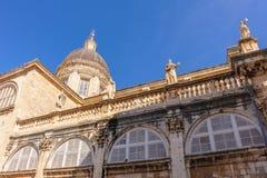 Acceptation de Dubrovnik de cathédrale de Vierge Marie Photo libre de droits