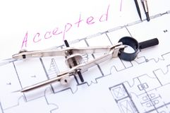 Accepted Plan! Stock Image