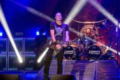 Acceptez chez Metalfest 2015 Image stock