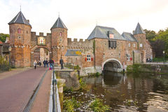 Acces to the medieval town center Royalty Free Stock Photography
