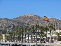 Acceso de Cartagena, España Foto de archivo libre de regalías