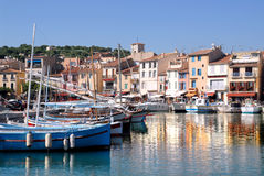 Acceso de Cassis en Francia Imagen de archivo libre de regalías