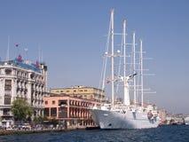 Acceso de Estambul, Bosporus-Turquía Foto de archivo