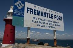 Acceso de Fremantle Imágenes de archivo libres de regalías