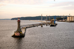 Acceso de Gdynia Imagen de archivo libre de regalías
